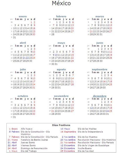 das de descanso obligatorio 2016 mxico descargar calendario 2011 m 233 xico