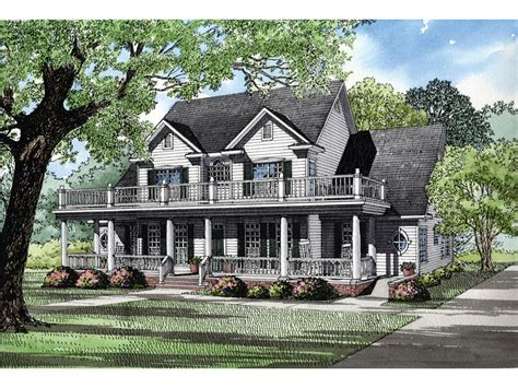 southern luxury house plans howdershell luxury home balconies porch and luxury