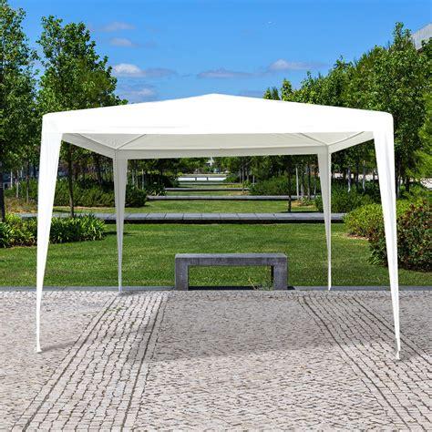 tende da gazebo outsunny gazebo da giardino tenda da esterno impermeabile