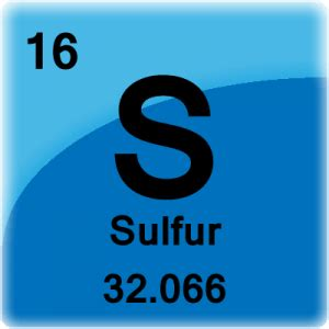 Periodic Table Sulfur by Sulfur Facts