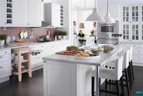 kitchen design ideas ikea ikea large white kitchen interior design ideas