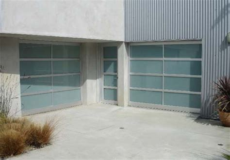 Frosted Garage Door by Frosted Aluminum Garage Doors House