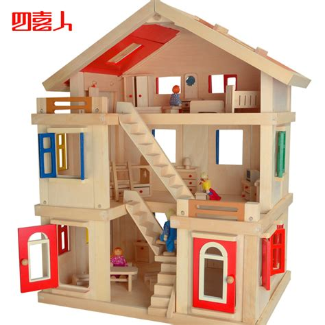 cheap wooden doll houses online get cheap doll house wooden aliexpress com alibaba group