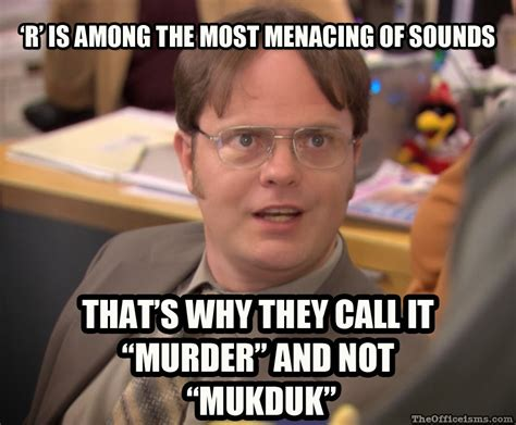 Dwight Schrute Memes - the office isms meme isms