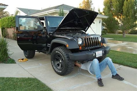 chagne jeep wrangler 2012 jeep wrangler term road test maintenance