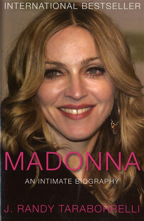 biography madonna book madonna an intimate biography uk deleted book pan