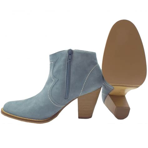 light blue boots kaiser marisana light blue suede ankle