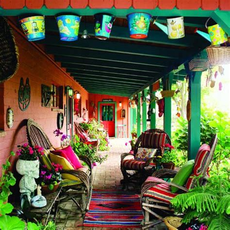 Mexican Home Decor Ideas Best 25 Mexican Garden Ideas On Mexican Style Homes Patio And Mexican Patio