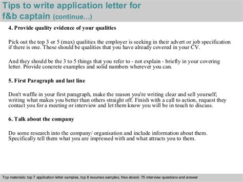 School Captain Application Letter Exle F B Captain Application Letter