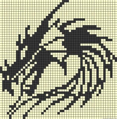 image perler bead dragon pattern download