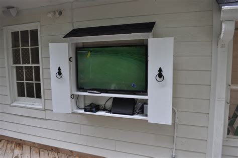 backyard tv outdoor tv cabinets google search outdoor ideas pinterest