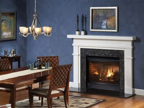 fireplace in dining room heatilator caliber gas fireplace dining room by