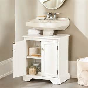 best 25 pedestal sink storage ideas on corner