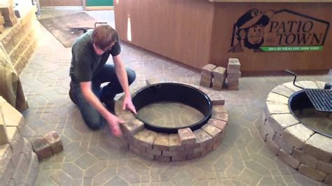 Diy Brick Pit Tutorial Pit Design Ideas How To Build A Pit Ring