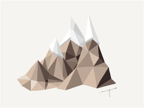 How To Make Paper Mountain - pin by andreas skoog on illustrations