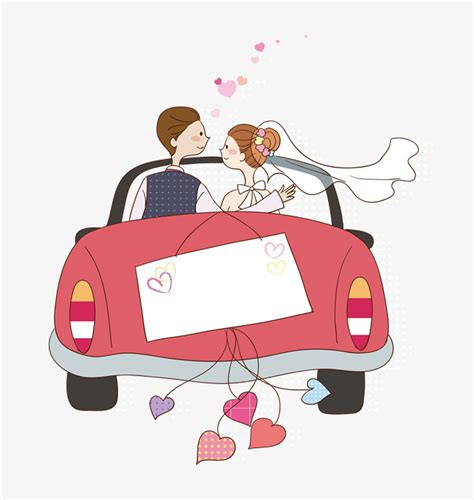 Just Married Auto Comic by Wedding Car Wedding Clipart Car Clipart Wedding