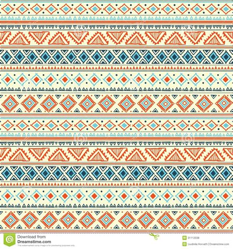Tribal Pattern Free Image | abstract tribal pattern stock vector illustration of
