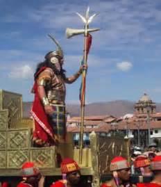 reyes y emperadores incas