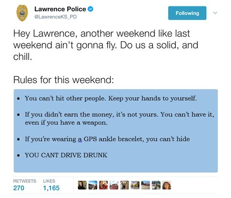 four on a couch rules 12 more times the lawrence pd were straight up savage on