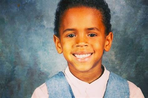 Brown Thursdays Child Peran Ganda chris brown was an angelic child but is now placed on watchlist by mirror