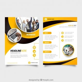 Templates Vectors 254 700 Free Files In Ai Eps Format 1 3 Page Flyer Template