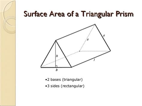 How To Make A Triangular Prism Out Of Paper - gallery for gt formula for surface area of a triangular prism