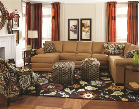 6 seat sectional sofa brantley 6 seat sectional with chaise furniture