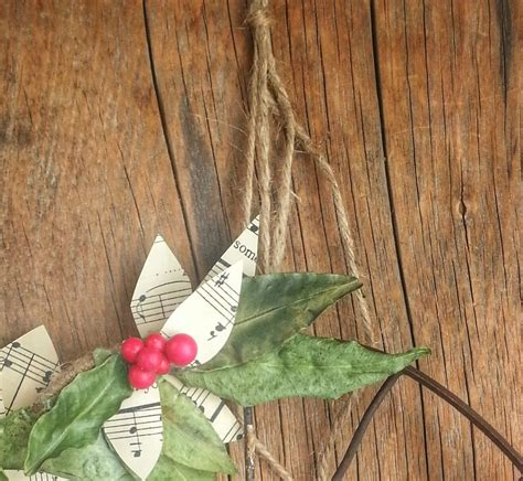 hometalk diy rustic christmas wreath