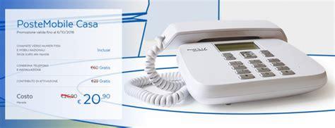 numero assistenza poste mobile postemobile casa chiamate illimitate con telefono e
