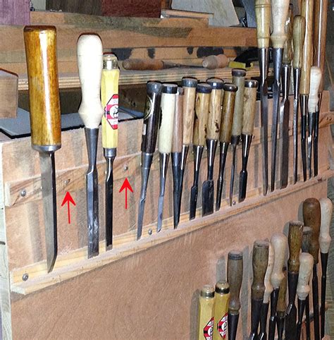 Chisel Rack by Chisel Storage Laird