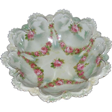 m z austria porcelain bowl from hollin gate on ruby