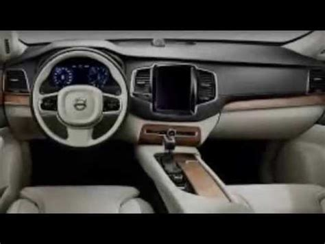 how cars run 2012 volvo xc90 interior lighting new 2015 volvo xc90 review exterior interior engineer interview at volvo ocean race youtube