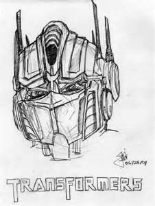 Transformers Optimus Prime Outline Sketch Coloring Page sketch template