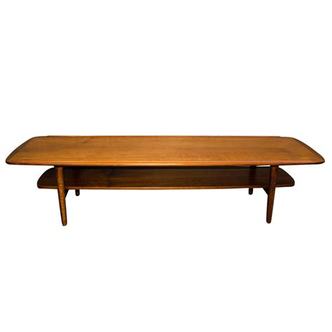 mid century teak coffee table at 1stdibs
