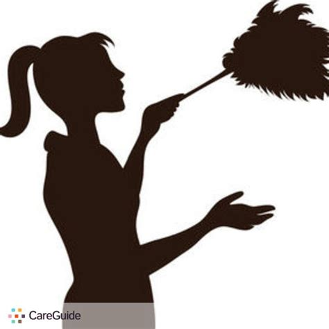 Carpet Repair Supplies Silhouette Of Maid With Duster Dusting As She Works 0515