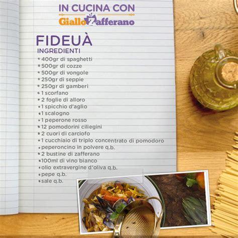cucina giallo zafferano in cucina con giallo zafferano ricetta di oggi fideu 224