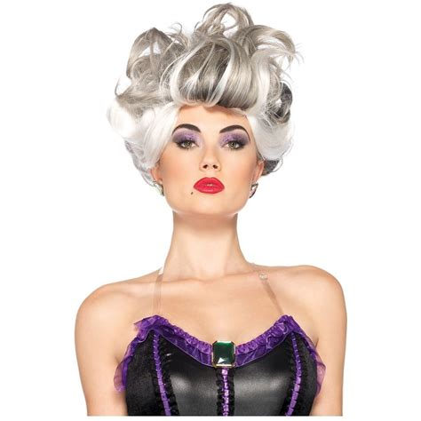 halloween fancy dress costumes scary masks and wigs ursula costume wig adult disney the little mermaid