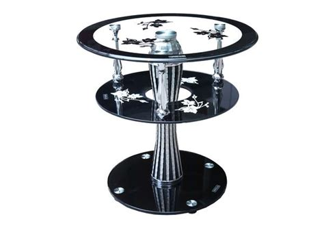 Swirl Glass Dining Table Glass Swirl Table Floba Home Goods