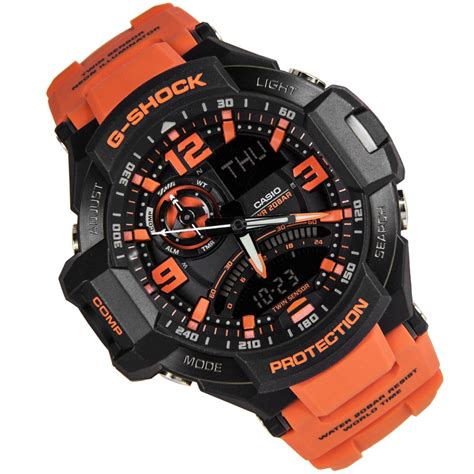 G Shock Ga 1000 4a casio g shock gravity master orange mens ga 1000