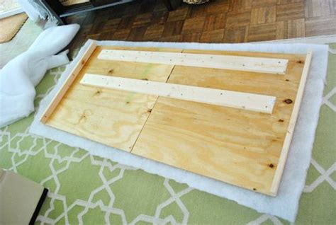 how to make a covered headboard how to make a diy upholstered headboard part 2 diy