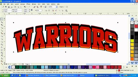 coreldraw x6 outline coreldraw x4 how to adding depth with outlines and