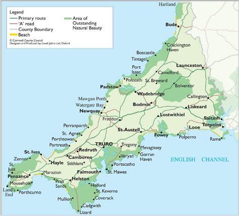 cornwall map cornwall map cornwall uk mappery