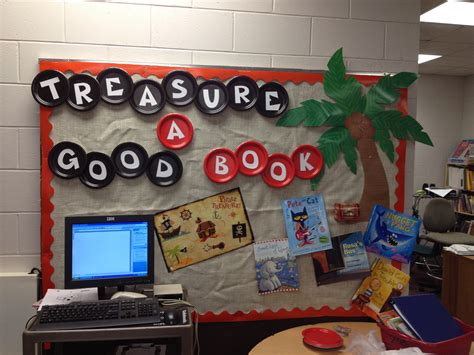 reading themes for libraries pirate themed library reading bulletin board bulletin