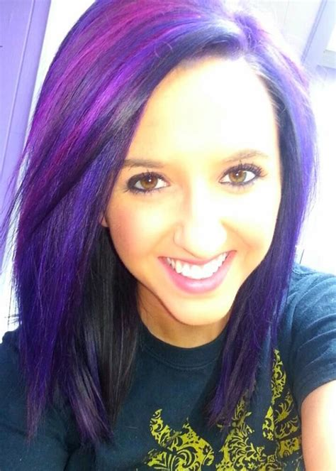 pravana hair cuts violet and wild orchid pravana