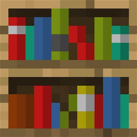 bookshelf minecraft