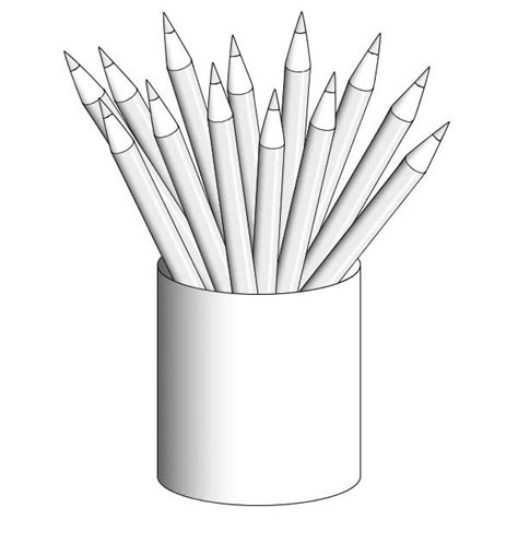 color pencil for coloring book pencil coloring page big and small pencil gianfreda net