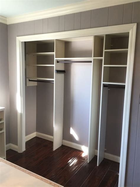 Reach In Closet Doors By Removing The Existing Bifolding Doors From The Reach In Closet This Space Becomes Part Of The