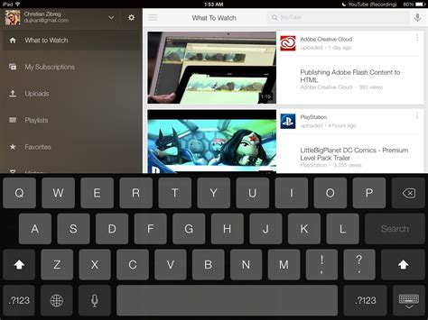 youtube new layout ios youtube app updated for ios 7 brings new design download
