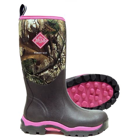 womans rubber boots s muck boots woody max boots 633681