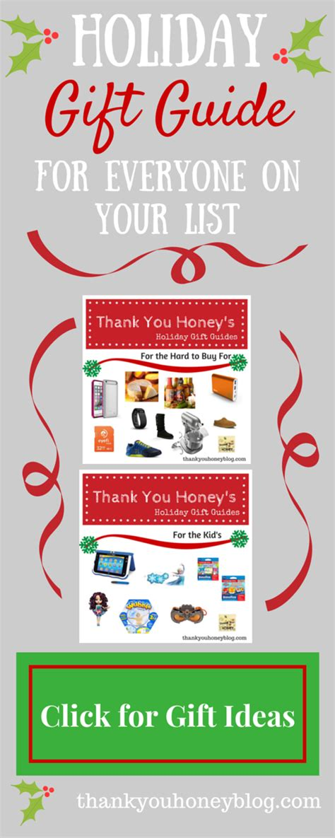 christmas gift ideas for anybody gift ideas for everyone on your list thank you honey